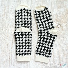 Houndstooth Cotton Socks