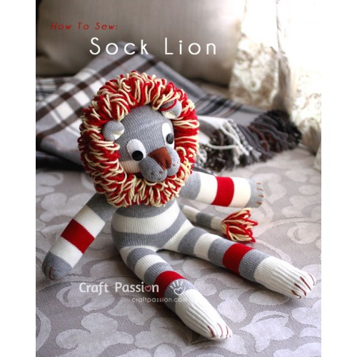 Sock Lion Kit - Free Gift With Purchase of Socks