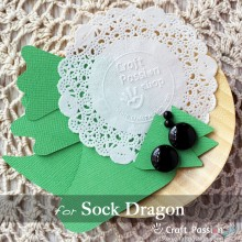Sock Dragon Kit - Free Gift With Purchase