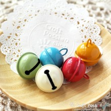 "Jingle Bell, 1"" - Random Color [2 pcs / pack]"