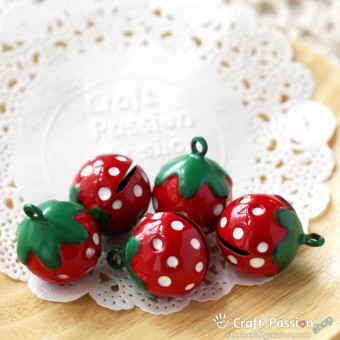 Jingle Bell, Strawberry Shaped