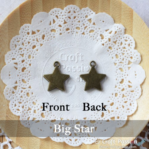 Star Charm B - small [ 5pcs / pack]