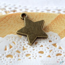 Star Charm C - medium [ 2 pcs / pack ]