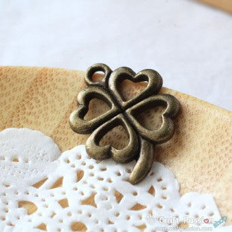 Leaf Charm A - small [ 2 pcs / pack ]