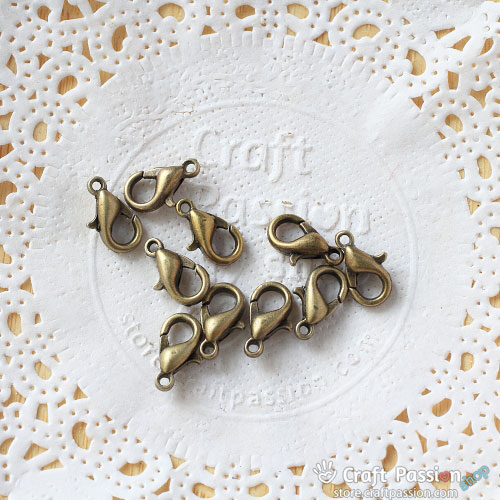 Lobster Claw Clasps [ 10 pcs / pack ]