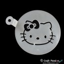Cake Stencil - Hello Kitty