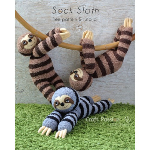 Sock Sloth Kit - Free Gift With Purchase of Socks