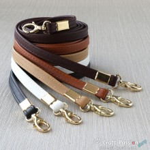 PU Leather Sling Strap, Fixed Length, 1.2 Meter Long